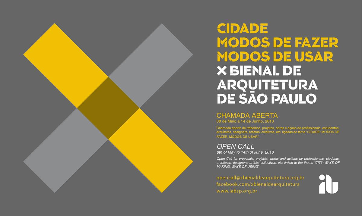 X Bienal - Chamada Aberta CINZA