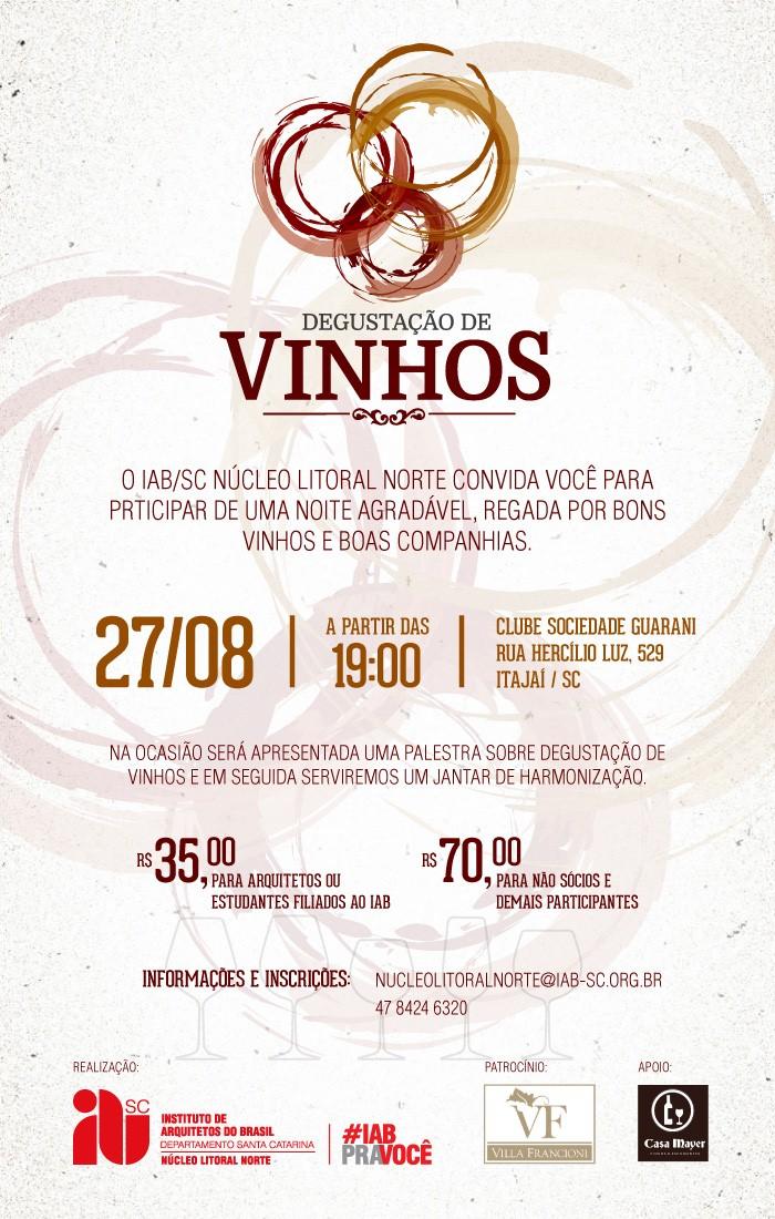 Degustação de Vinhos IAB - 27/08/2014