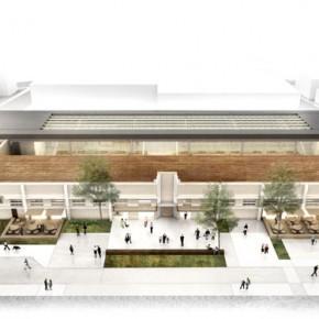 2º Colocado do Concurso Público de Arquitetura de Adequação e Requalificação do Mercado Público de Lages