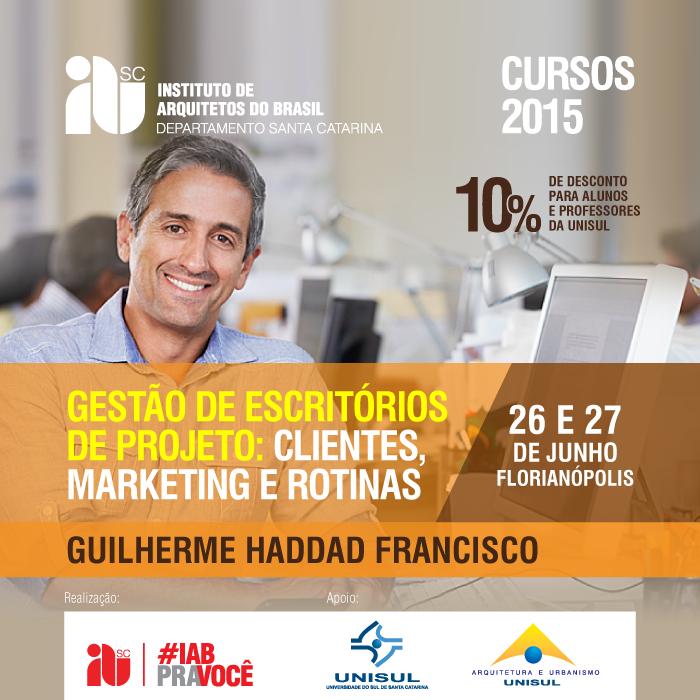 """Curso CONFIRMADO- """"Gestão de Escritórios de Projeto:  Clientes, Marketing e Rotinas"""",   26 e 27 de junho"""