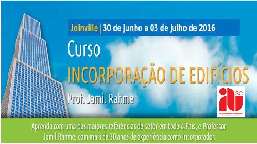 Parceria - Curso Incorporação de Edifícios em Joinville - IAB-SC