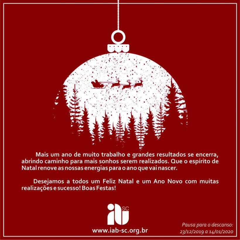 1- IAB SC - Cartaz Natal e Ano Novo 2019